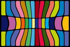Figuras abstractas del mosaico Fotografía de archivo