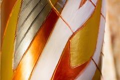 Figuras abstractas metálicas Fotos de archivo