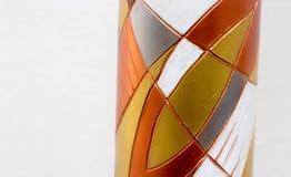 Figuras abstractas metálicas Imágenes de archivo libres de regalías