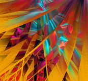 Figuras abstractas multicoloras Fotografía de archivo