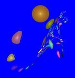 Figuras abstratas coloridos Fotografia de Stock