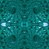 figuras abstratas com os faróis leves na cor, no fundo e na textura de água-marinha Fotos de Stock Royalty Free