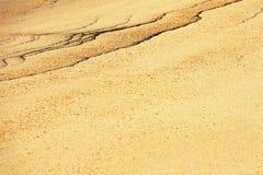 Figuras abstratas na areia Foto de Stock Royalty Free