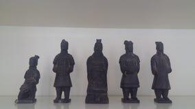 Figuras chinas Imagen de archivo libre de regalías