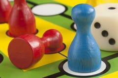 Figuras coloreadas Foto de archivo