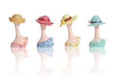 Figuras coloridas das mulheres Foto de Stock