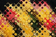 Figuras coloridos abstratas das curvas Foto de Stock Royalty Free