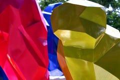 Figuras concepto de los colores de las formas Imagen de archivo libre de regalías