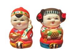 Figuras da argila Imagens de Stock Royalty Free