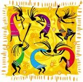 Figuras da dança Imagem de Stock Royalty Free