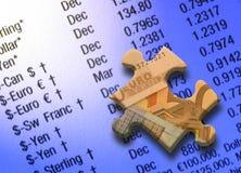 Figuras da moeda Imagem de Stock