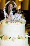 Figuras da noiva e do noivo Imagens de Stock Royalty Free