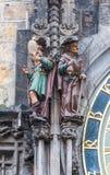 Figuras da vaidade e do avarento Imagens de Stock Royalty Free