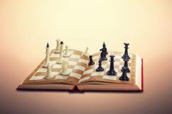 Figuras da xadrez ilustração royalty free