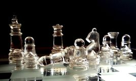 Figuras da xadrez Foto de Stock Royalty Free