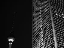 Figuras de Alexanderplatz Foto de Stock