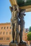 Figuras de Atlantes del granito Imagen de archivo libre de regalías