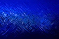 Figuras de base abstractas líneas azules Fotos de archivo