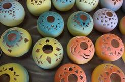 Figuras de cerámica Fotografía de archivo libre de regalías