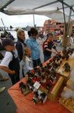 Figuras de compra da pesca à corrica. Imagens de Stock Royalty Free