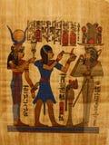 Figuras de Egipto Foto de archivo