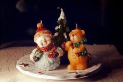 Figuras de la Navidad Imagenes de archivo