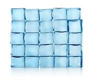 Figuras de los cubos de hielo   Fotos de archivo libres de regalías