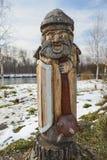 Figuras de madeira Fotos de Stock