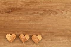Figuras de madera Foto de archivo libre de regalías