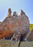 Figuras de pedra bonitas Foto de Stock Royalty Free
