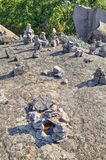 Figuras de pedra bonitas Imagens de Stock