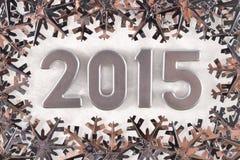 figuras de plata de 2015 años Foto de archivo