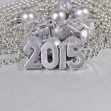 figuras de plata de 2015 años Imagenes de archivo
