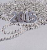 figuras de plata de 2015 años Imagen de archivo