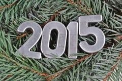 figuras de plata de 2015 años Imagen de archivo libre de regalías