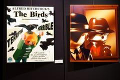 Figuras de Playmobil como estrellas de cine Imagen de archivo libre de regalías