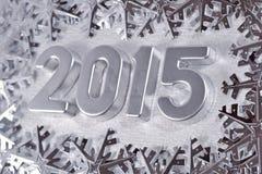 figuras de prata de 2015 anos Fotografia de Stock