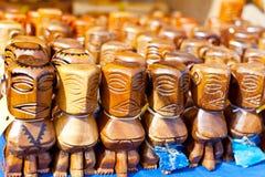 Figuras de Tiki Fotos de archivo