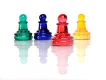 Figuras de vidro Imagens de Stock Royalty Free