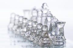 Figuras del ajedrez Foto de archivo