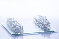Figuras del ajedrez Fotografía de archivo