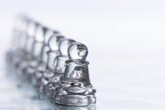 Figuras del ajedrez Imagen de archivo libre de regalías