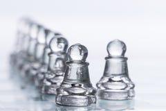 Figuras del ajedrez Fotos de archivo