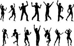 Figuras del baile Fotografía de archivo