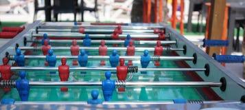 Figuras del fútbol de la tabla imagen de archivo