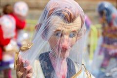 Figuras del fest de Fallas en Valencia España tradicional Fotos de archivo libres de regalías