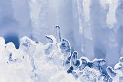 Figuras del hielo Imágenes de archivo libres de regalías
