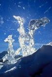 Figuras del hielo Imagenes de archivo