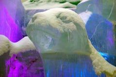 Figuras del hielo en Moscú Fotografía de archivo