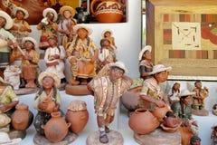 Figuras del indio del recuerdo Foto de archivo
